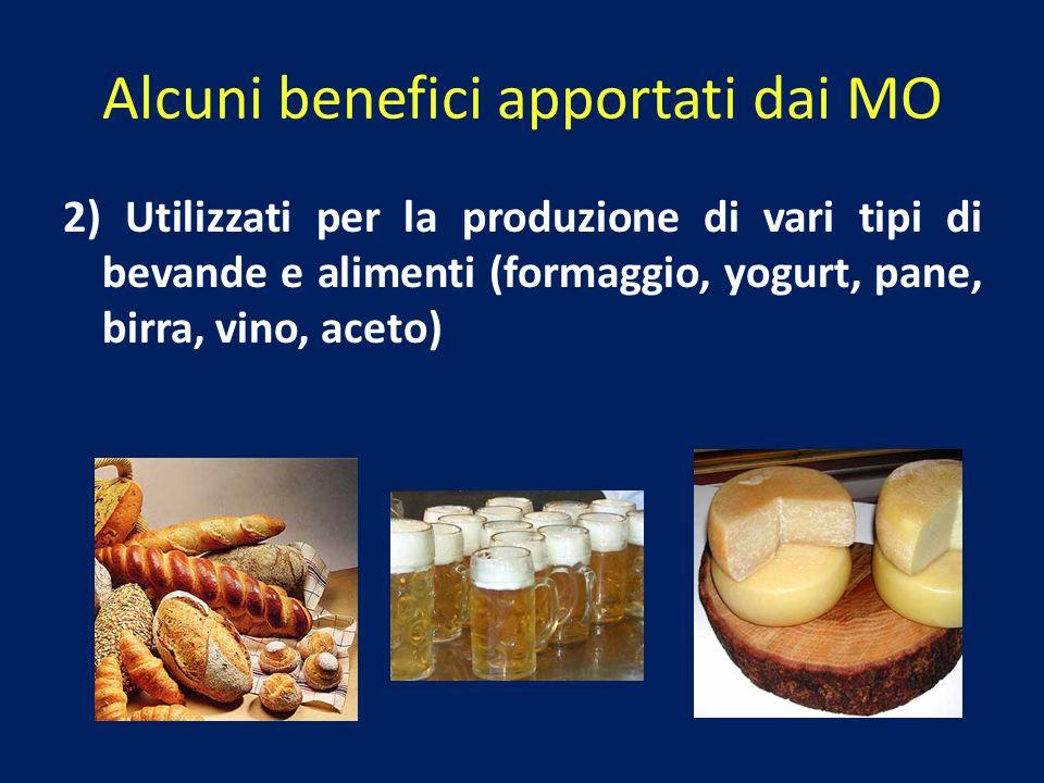 Alcuni benefici apportati dai MO