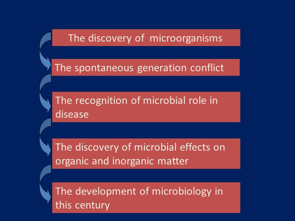 The discovery of microorganisms