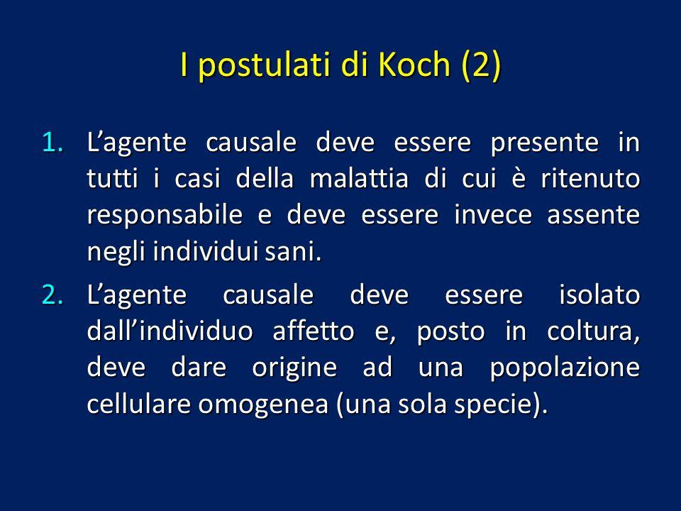 I postulati di Koch (2)