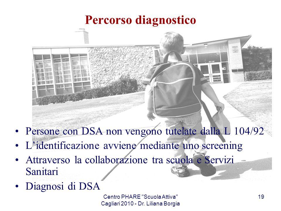 Centro PHARE Scuola Attiva Cagliari 2010 - Dr. Liliana Borgia