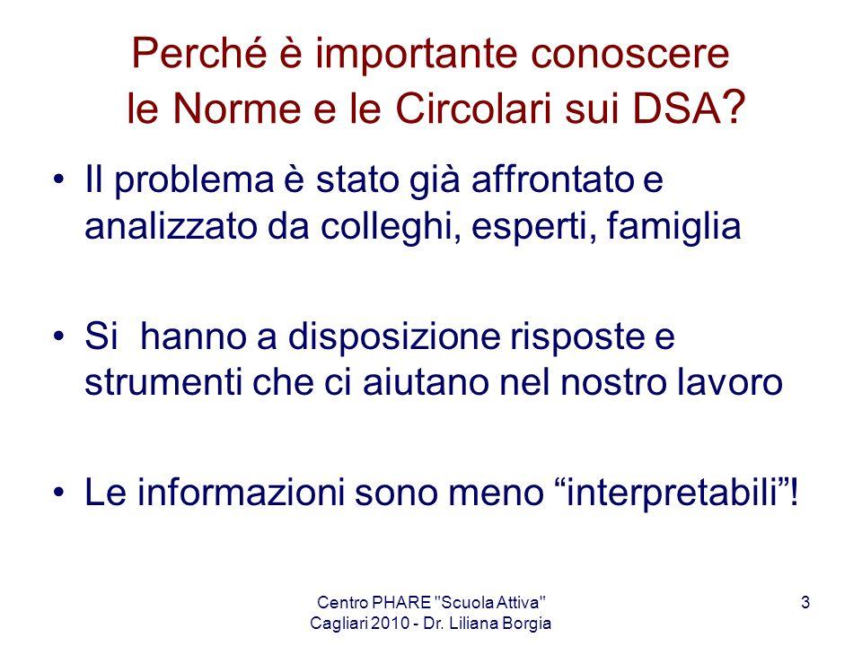 Perché è importante conoscere le Norme e le Circolari sui DSA