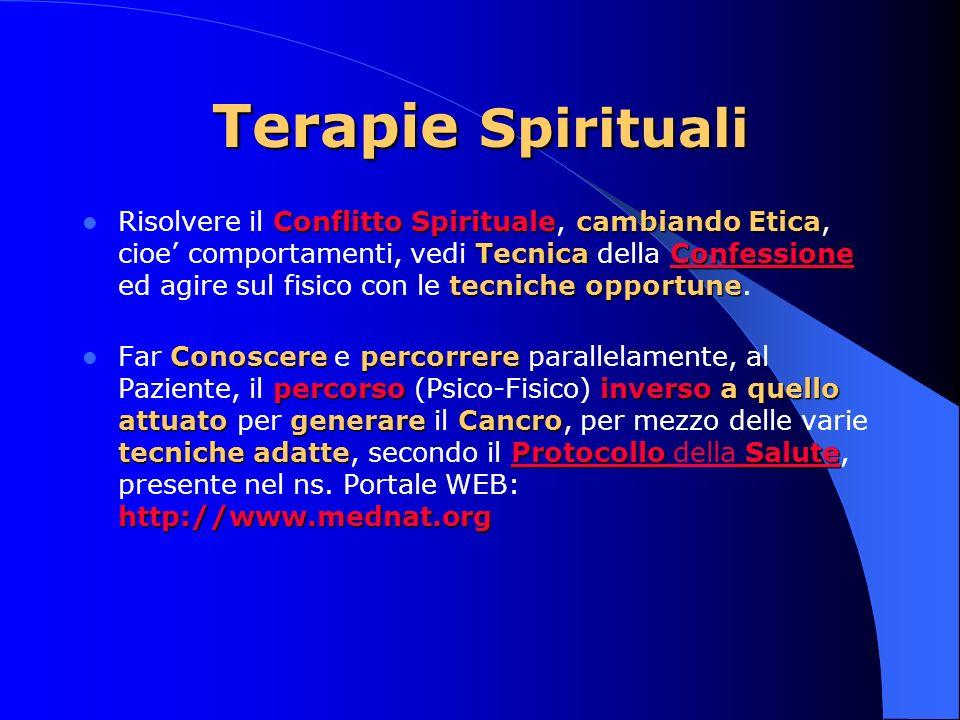 Terapie Spirituali