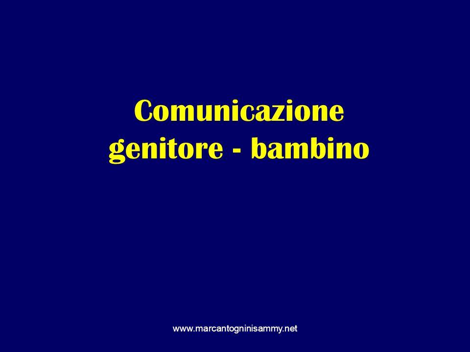 Comunicazione genitore - bambino