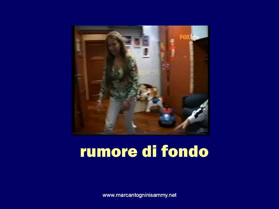 rumore di fondo www.marcantogninisammy.net