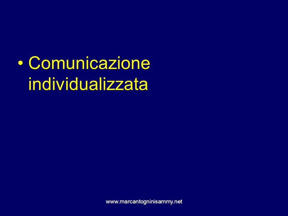 Comunicazione individualizzata