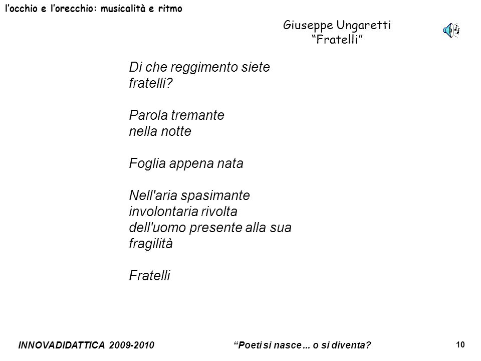 Giuseppe Ungaretti Fratelli