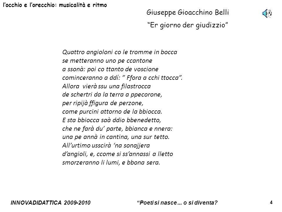 Giuseppe Gioacchino Belli Er giorno der giudizzio