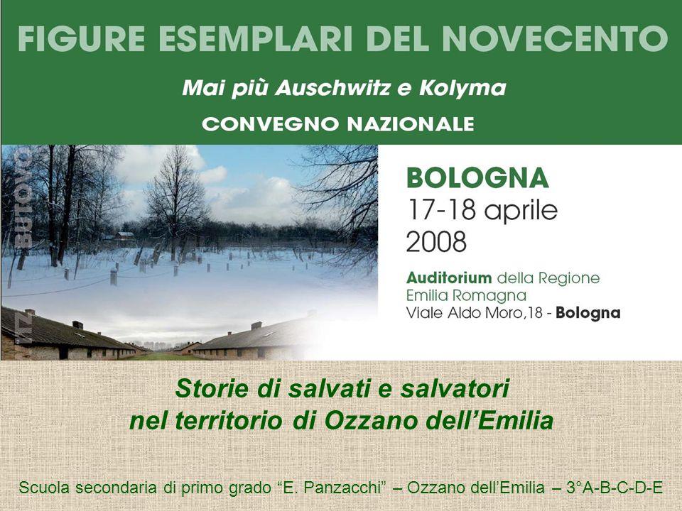 Storie di salvati e salvatori nel territorio di Ozzano dell'Emilia