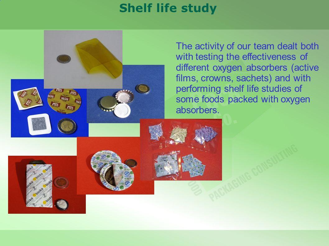 Shelf life study