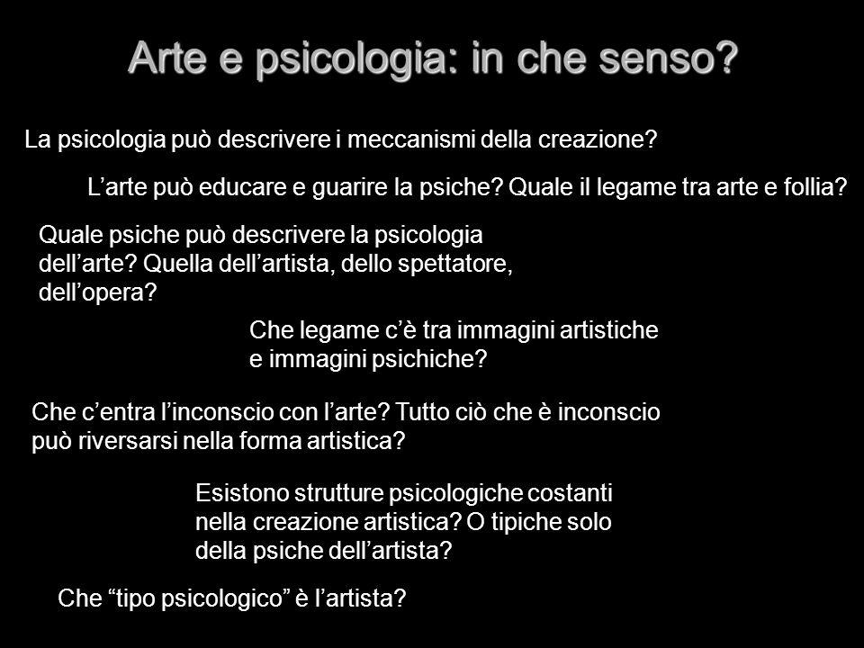 Arte e psicologia: in che senso