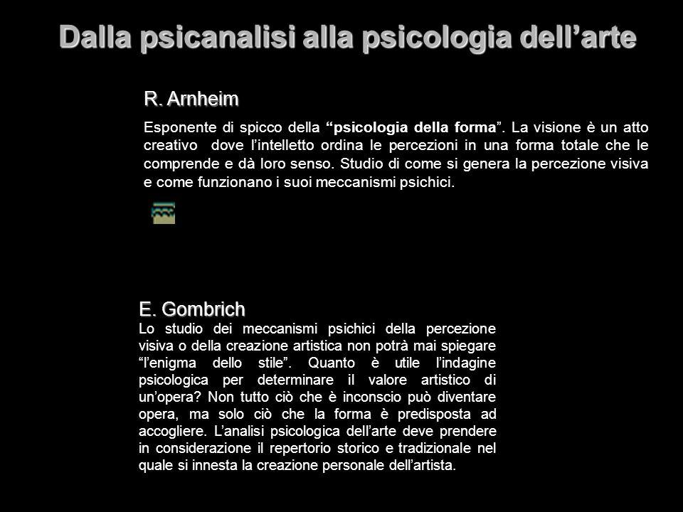 Dalla psicanalisi alla psicologia dell'arte