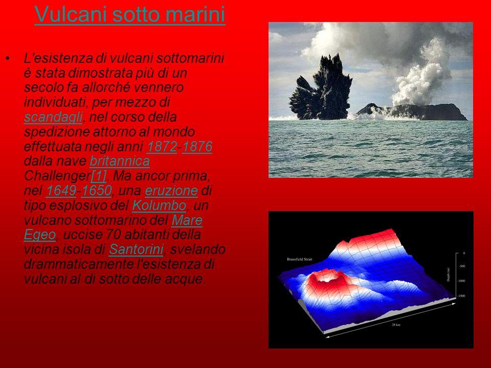 Vulcani sotto marini