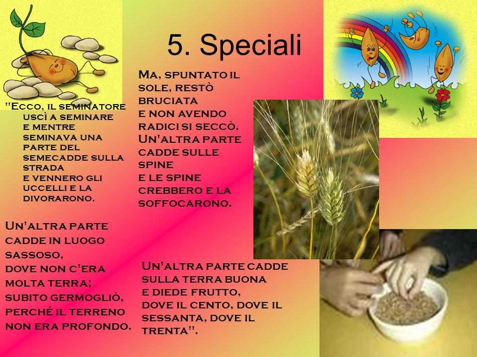 5. Speciali