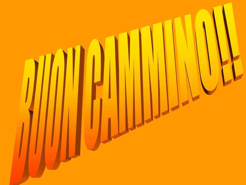 BUON CAMMINO!!