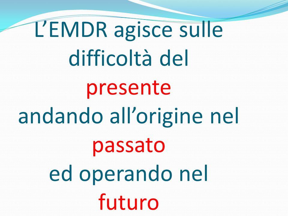 L'EMDR agisce sulle difficoltà del presente andando all'origine nel passato ed operando nel futuro