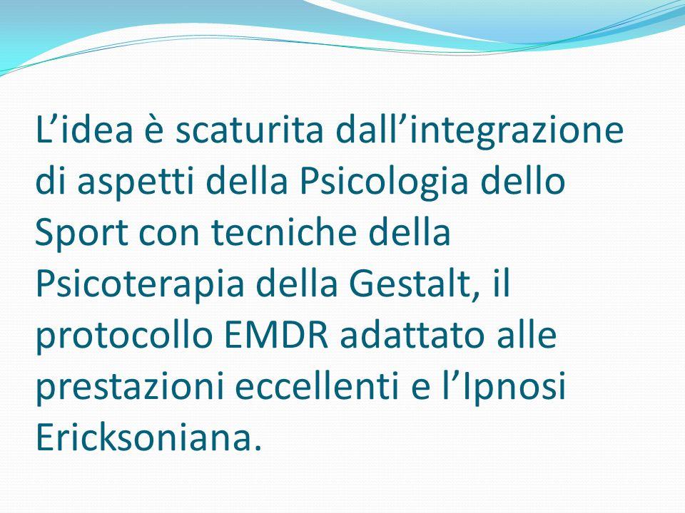 L'idea è scaturita dall'integrazione di aspetti della Psicologia dello Sport con tecniche della Psicoterapia della Gestalt, il protocollo EMDR adattato alle prestazioni eccellenti e l'Ipnosi Ericksoniana.