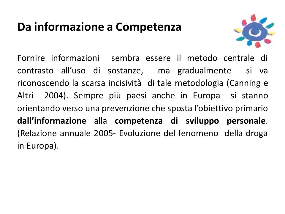 Da informazione a Competenza