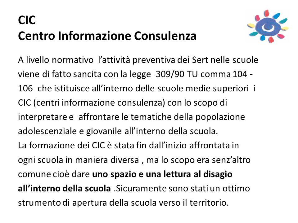 CIC Centro Informazione Consulenza