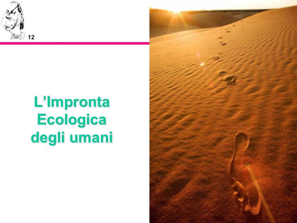 L'Impronta Ecologica degli umani