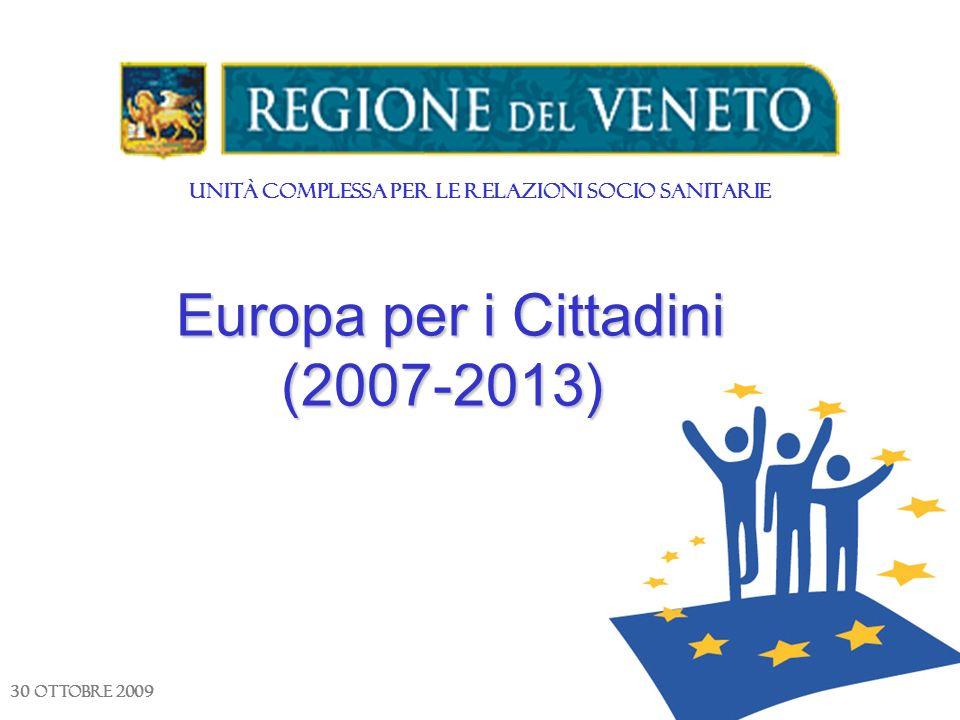 Europa per i Cittadini (2007-2013)