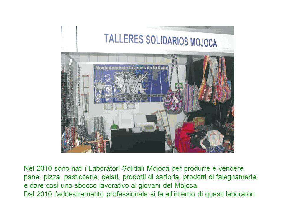 Nel 2010 sono nati i Laboratori Solidali Mojoca per produrre e vendere