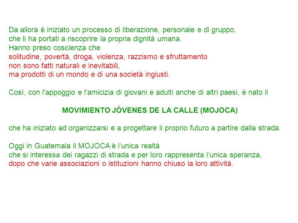 MOVIMIENTO JÓVENES DE LA CALLE (MOJOCA)