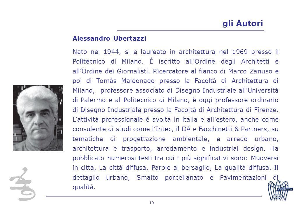 gli Autori Alessandro Ubertazzi