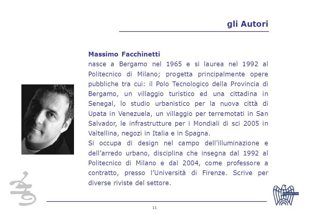 gli Autori Massimo Facchinetti