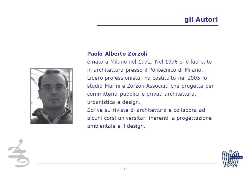 gli Autori Paolo Alberto Zorzoli