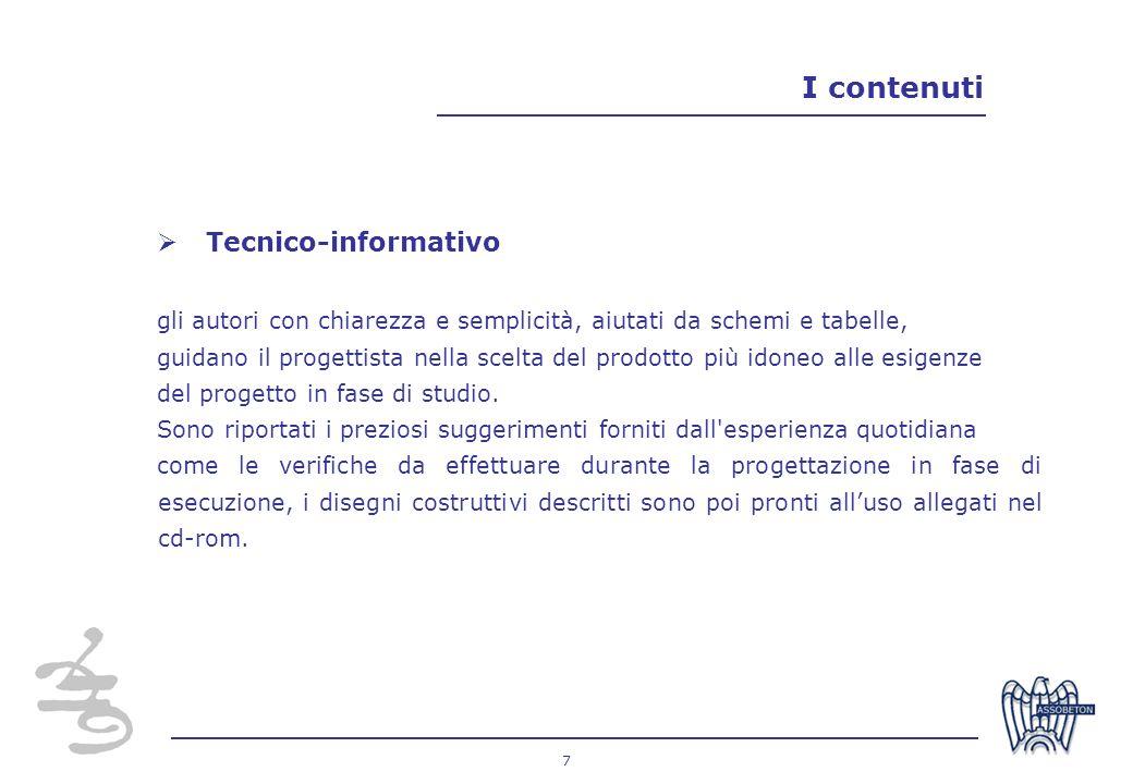 I contenuti Tecnico-informativo