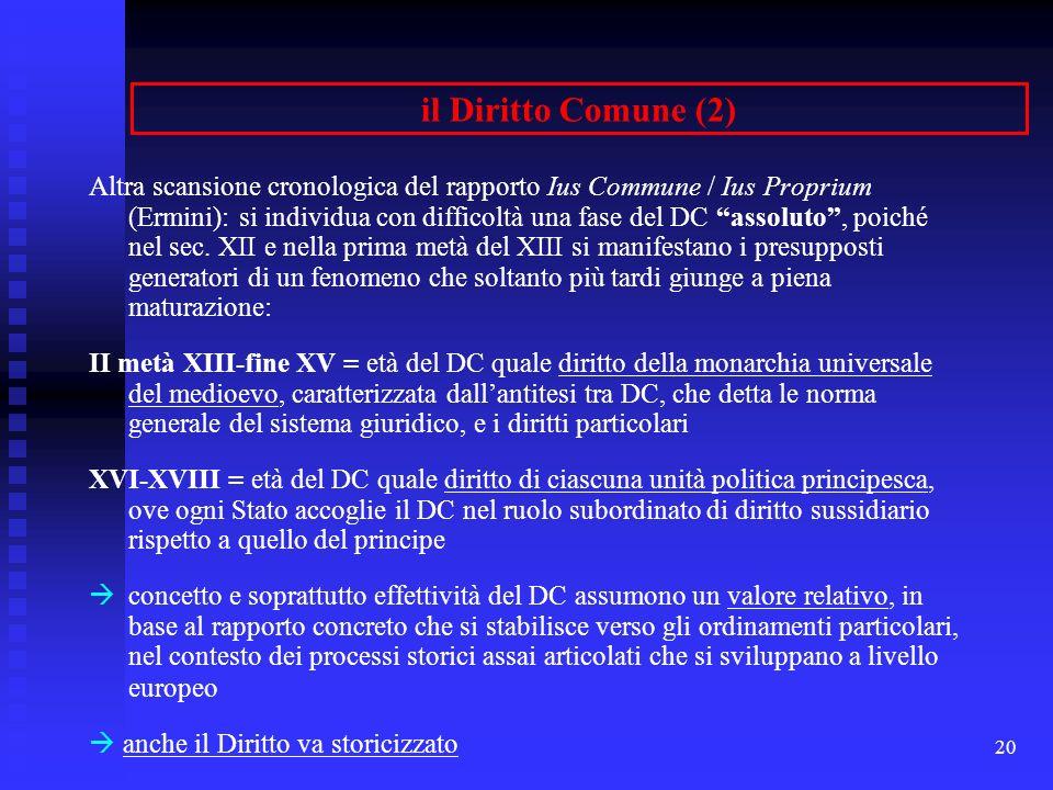 il Diritto Comune (2)