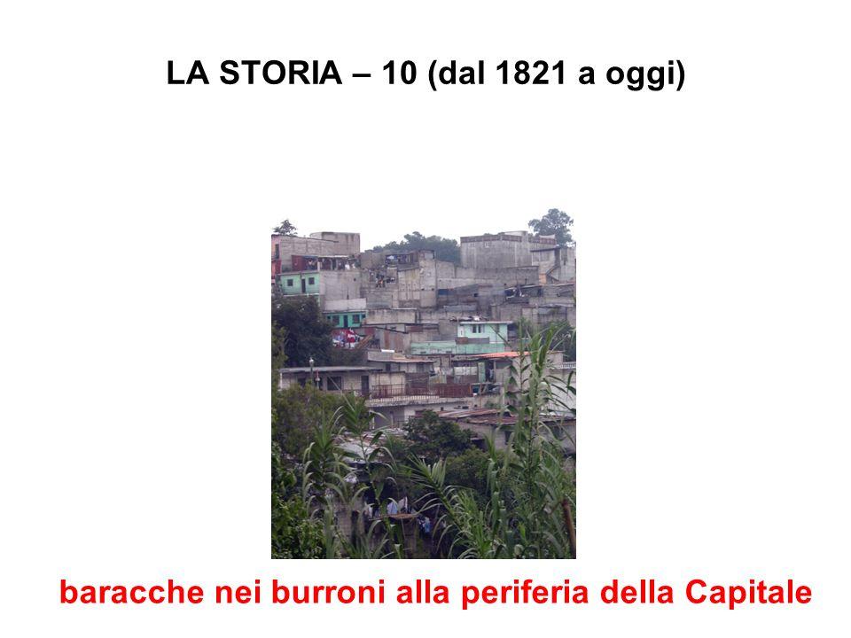 LA STORIA – 10 (dal 1821 a oggi) baracche nei burroni alla periferia della Capitale