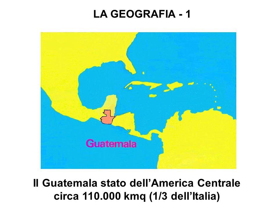 Il Guatemala stato dell'America Centrale