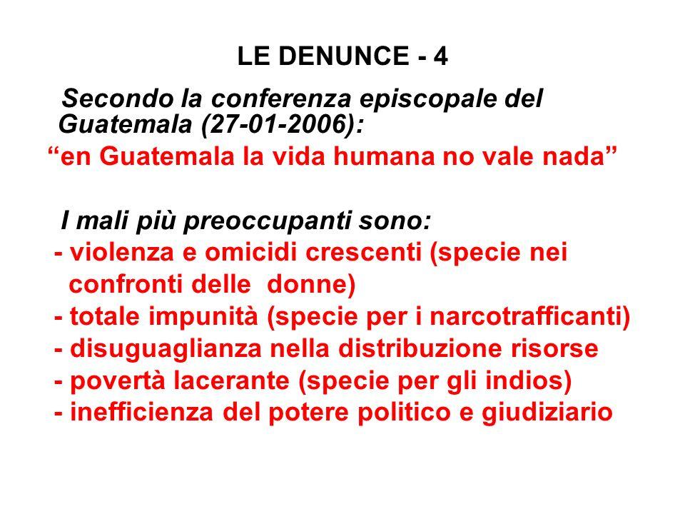en Guatemala la vida humana no vale nada