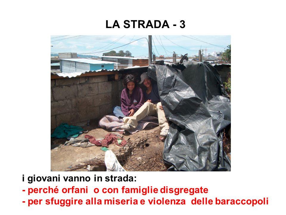LA STRADA - 3 i giovani vanno in strada: