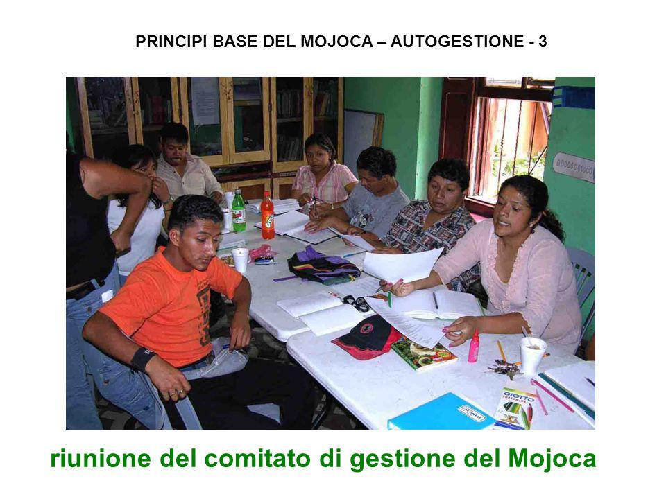 riunione del comitato di gestione del Mojoca