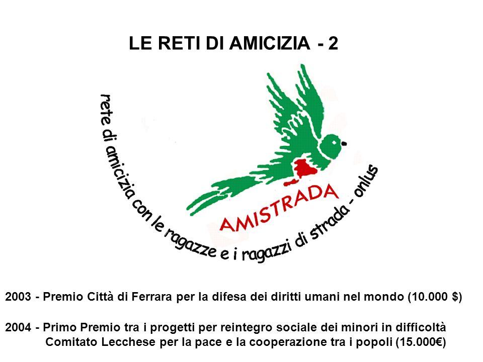 LE RETI DI AMICIZIA - 2
