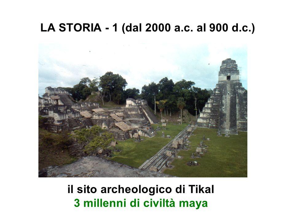 LA STORIA - 1 (dal 2000 a.c. al 900 d.c.)