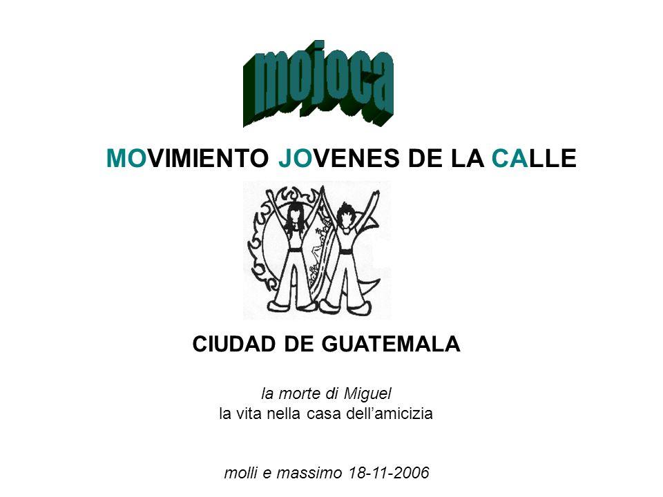 MOVIMIENTO JOVENES DE LA CALLE