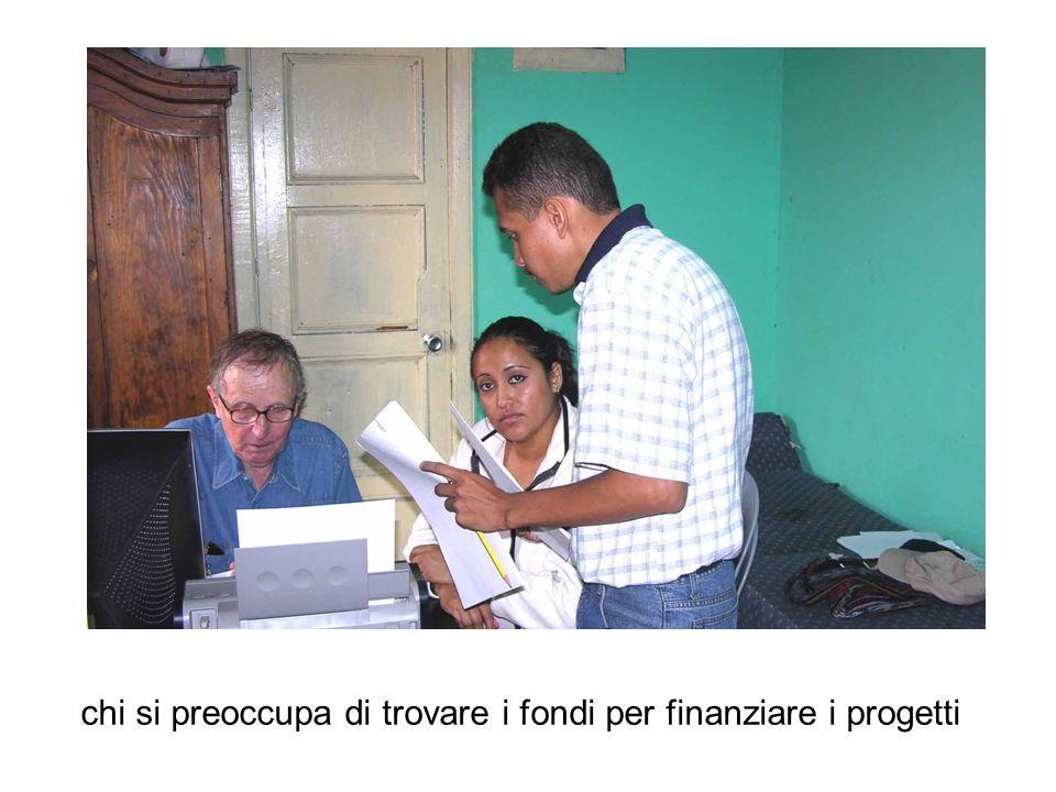 chi si preoccupa di trovare i fondi per finanziare i progetti