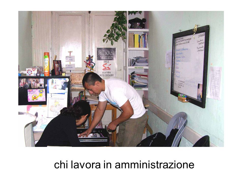 chi lavora in amministrazione