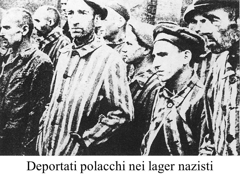 Deportati polacchi nei lager nazisti