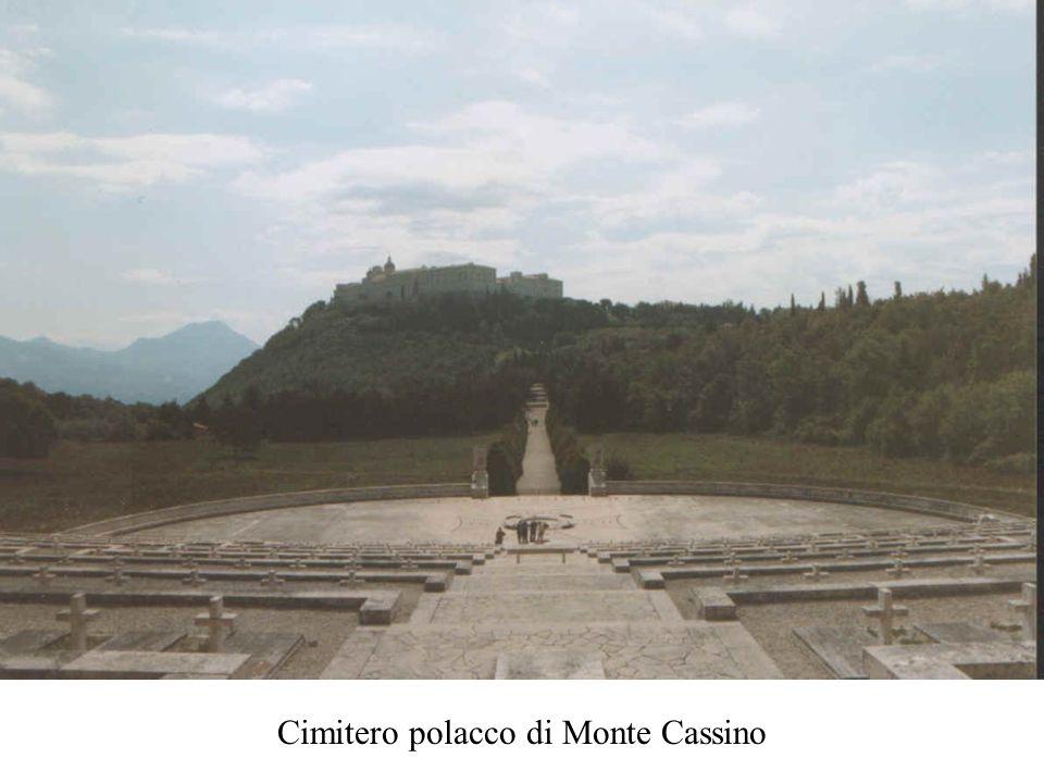Cimitero polacco di Monte Cassino