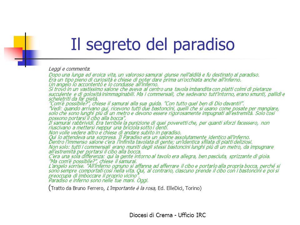 Il segreto del paradiso