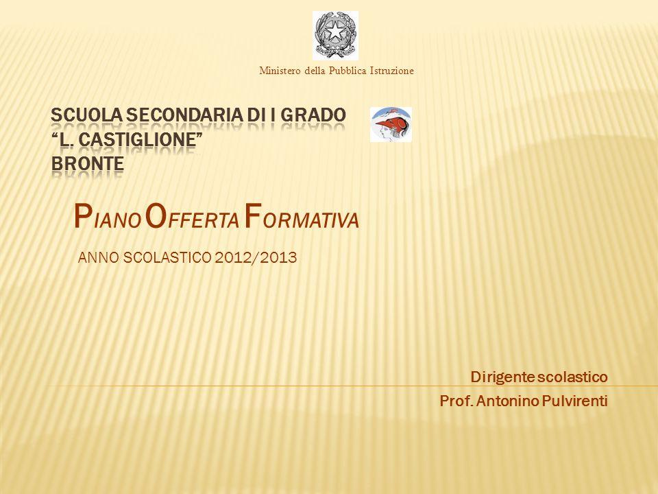 SCUOLA SECONDARIA DI I GRADO L. CASTIGLIONE BRONTE