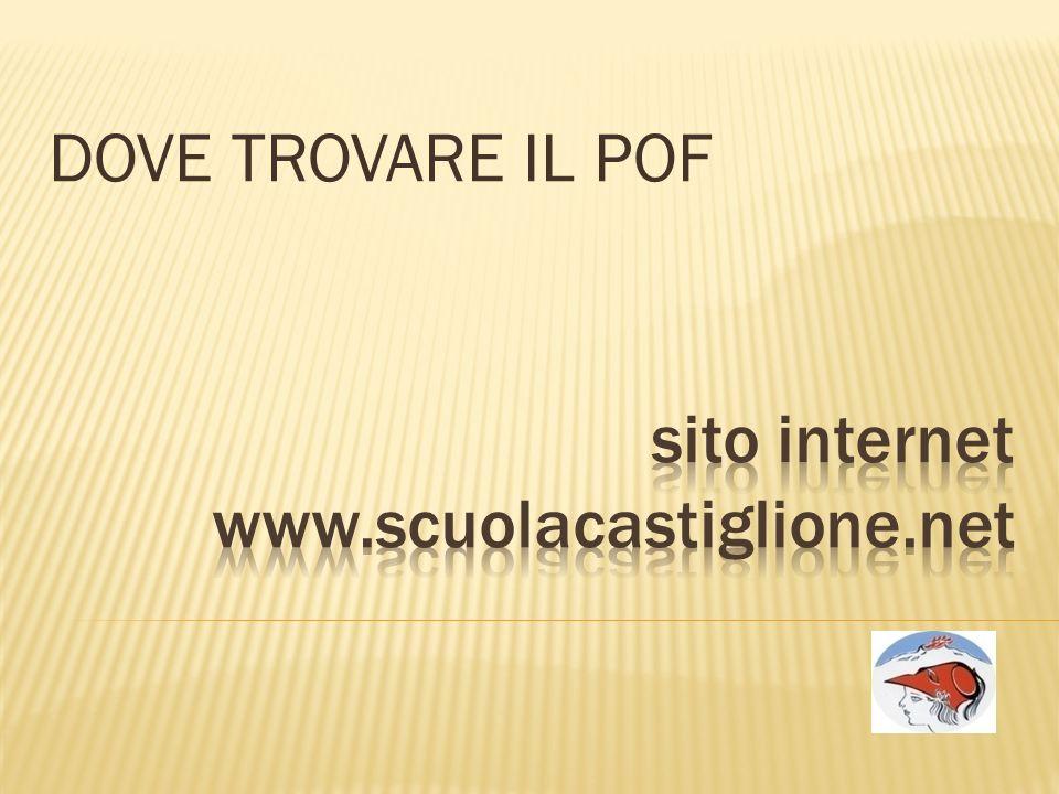 sito internet www.scuolacastiglione.net