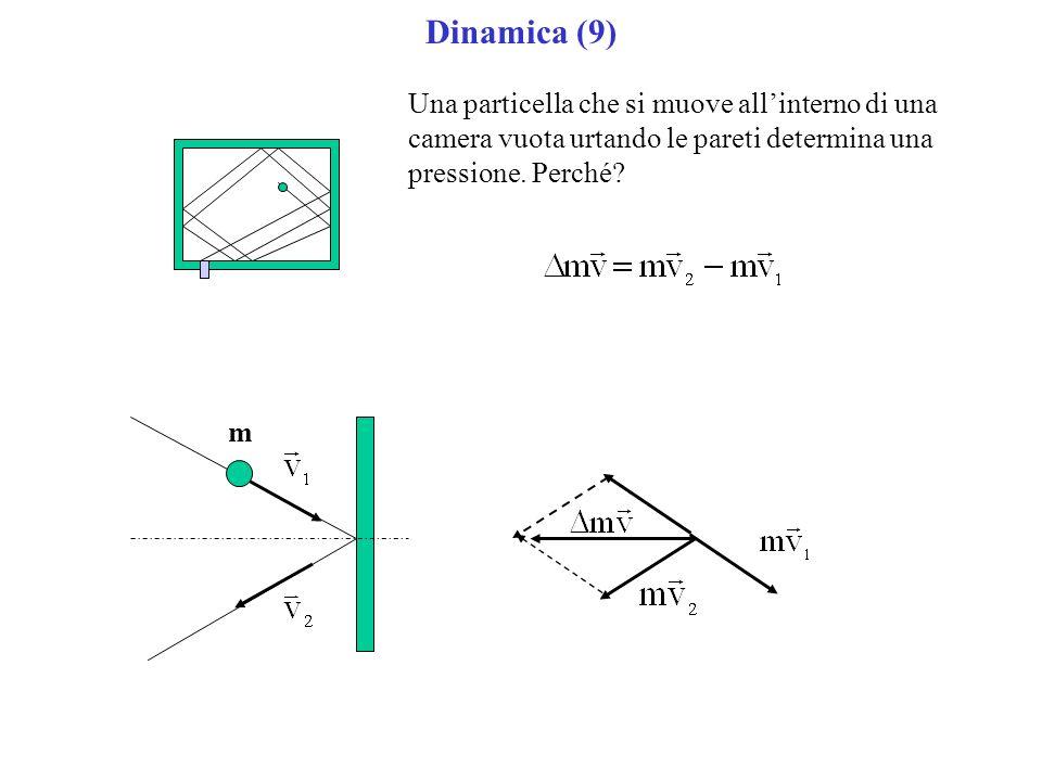Dinamica (9) Una particella che si muove all'interno di una