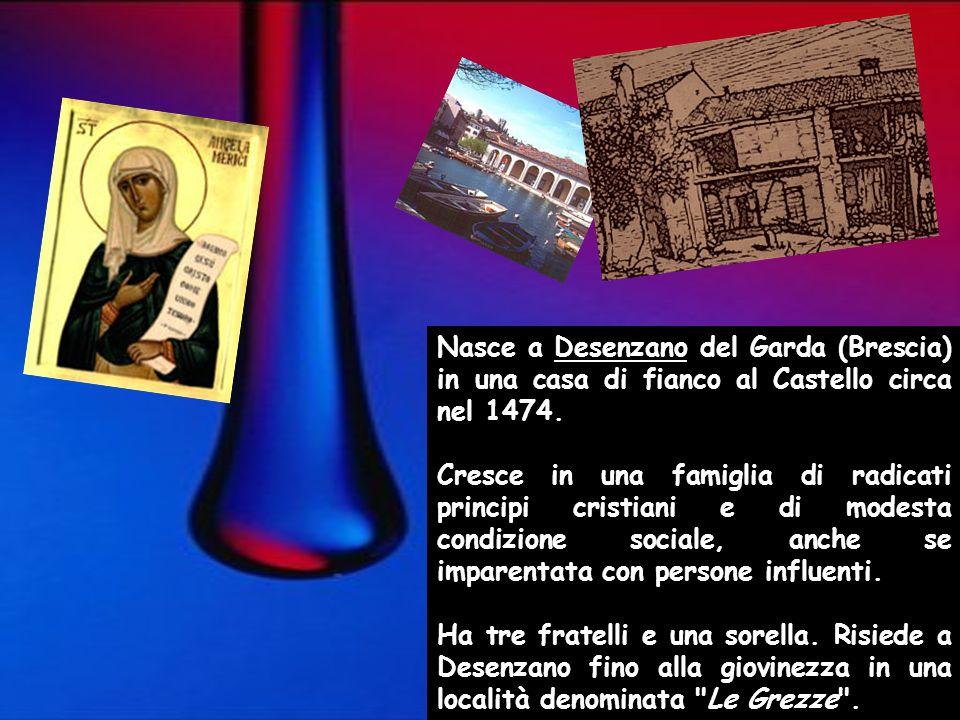 Nasce a Desenzano del Garda (Brescia) in una casa di fianco al Castello circa nel 1474.