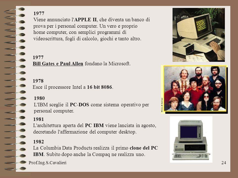 Bill Gates e Paul Allen fondano la Microsoft.