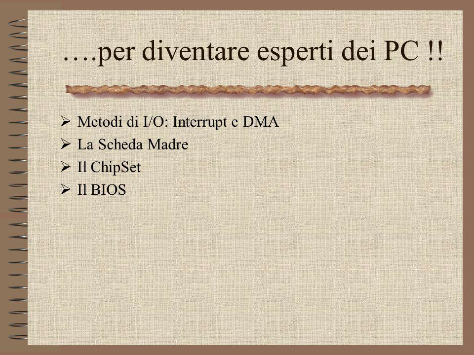 ….per diventare esperti dei PC !!